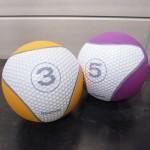 メディシンボール:重たいボールで機能的なカラダに。