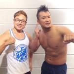 新日本プロレス KUSHIDA選手の体力測定&撮影