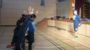 小学生のパフォーマンストレーニング教室