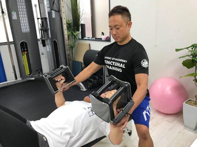 2019年8月パーソナルトレーニング④