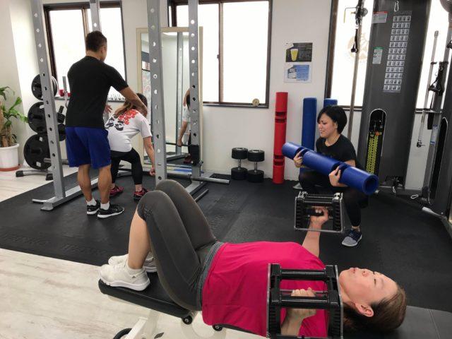 2019年8月パーソナルトレーニング⑤
