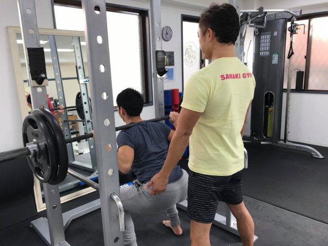 2019年12月のパーソナルトレーニング風景02