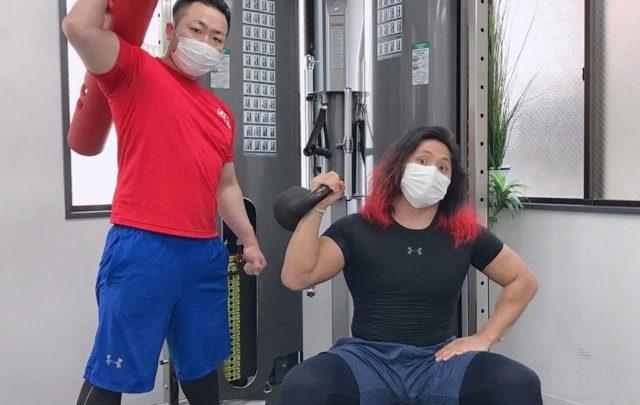 【メディア情報】高橋ヒロム選手のSNSにSAWAKI GYMが登場!