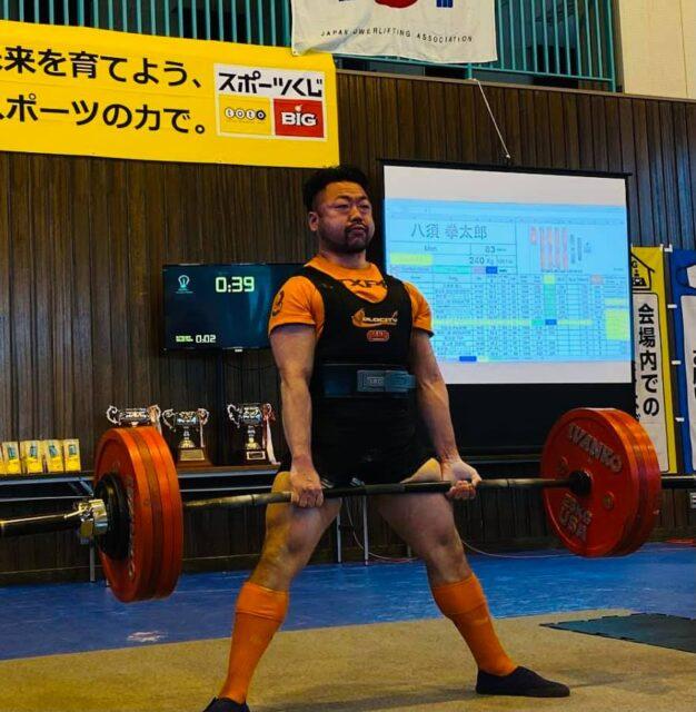 全日本パワーリフティング選手権大会2021に八須トレーナーが出場してきました!!03