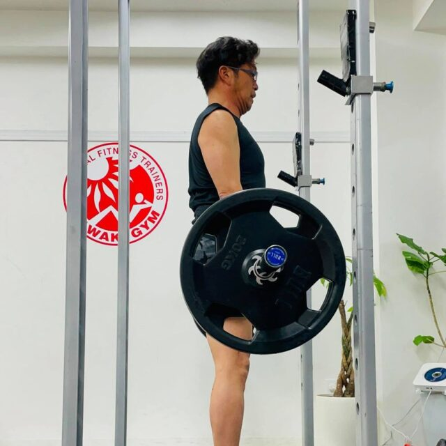 2021年4月のパーソナルトレーニング風景03
